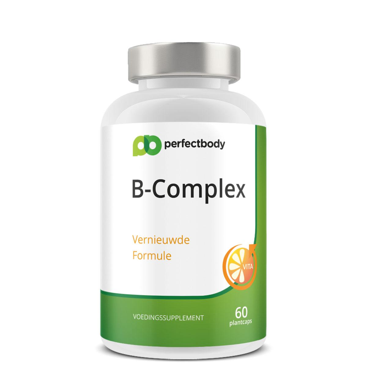 Perfectbody Vitamine B-complex - 60 Plantcapsules