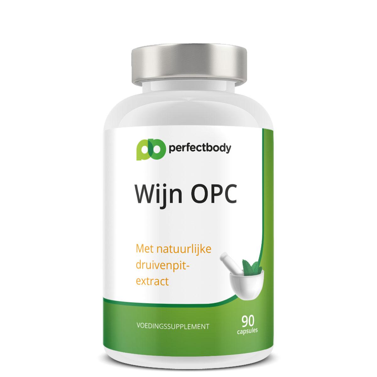 Perfectbody OPC Druivenpitextract - 90 Capsules
