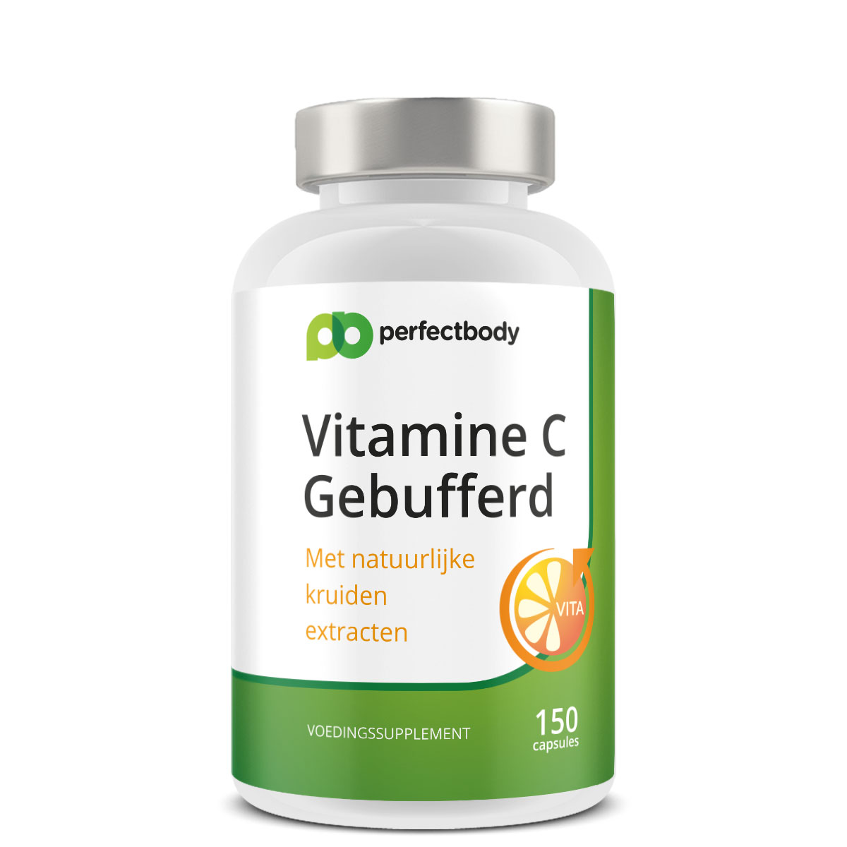 Perfectbody Ester-C (gebufferde Vitamine C) Pillen - 150 Vcaps