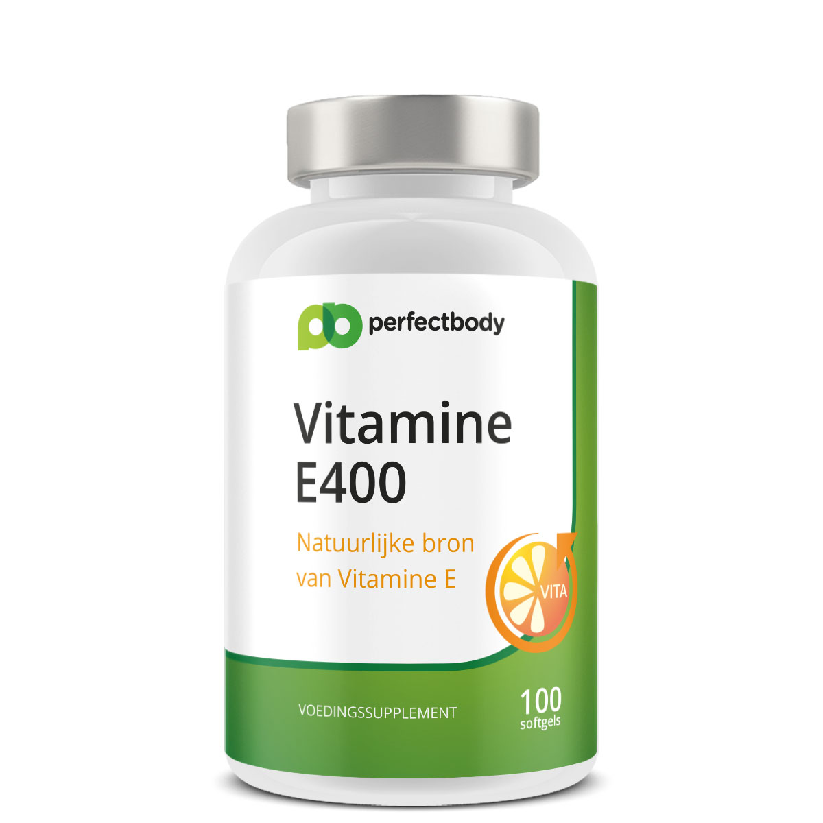 Perfectbody Vitamine E Capsules - 100 Softgels