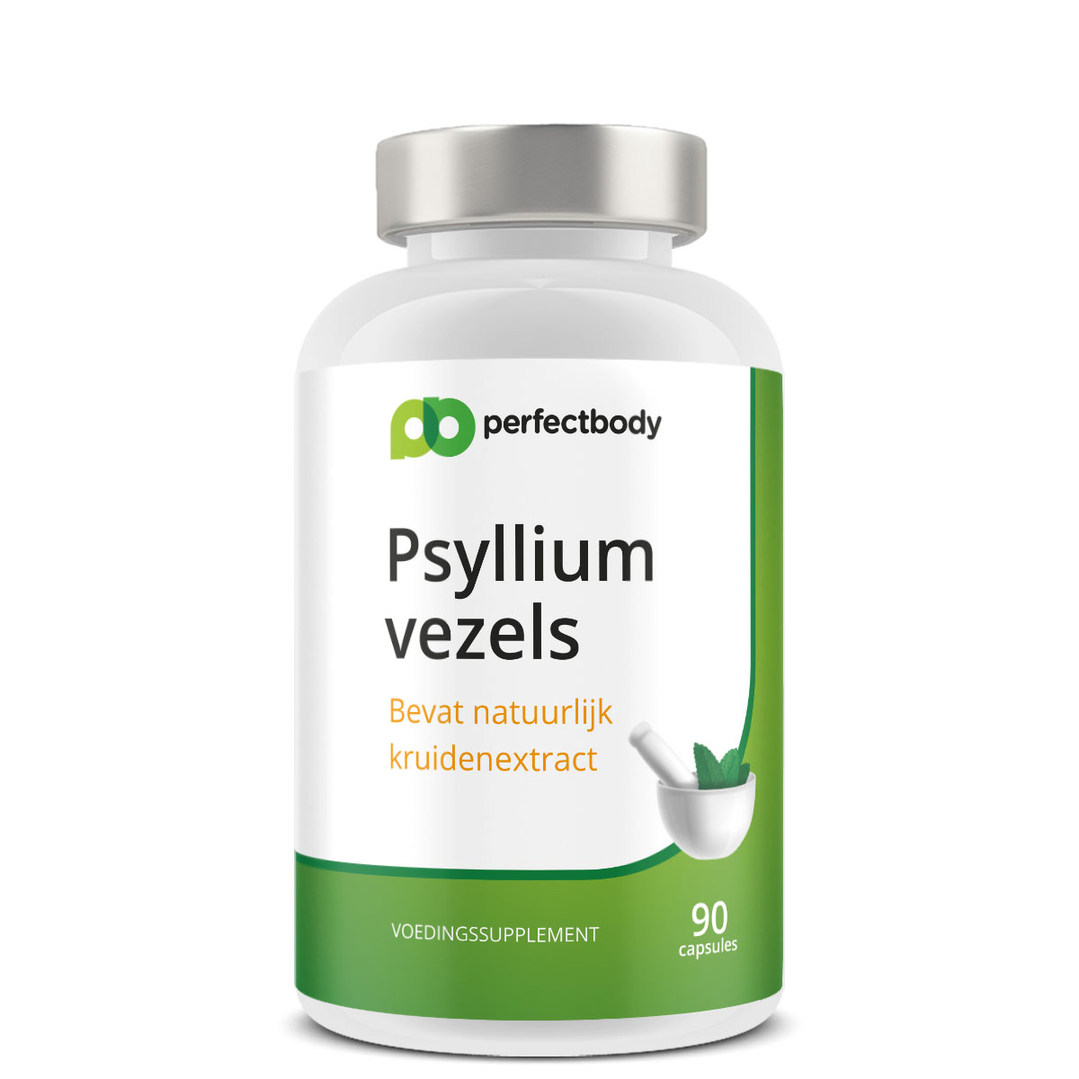 Perfectbody Psylliumvezels (vlozaad) - 90 Capsules