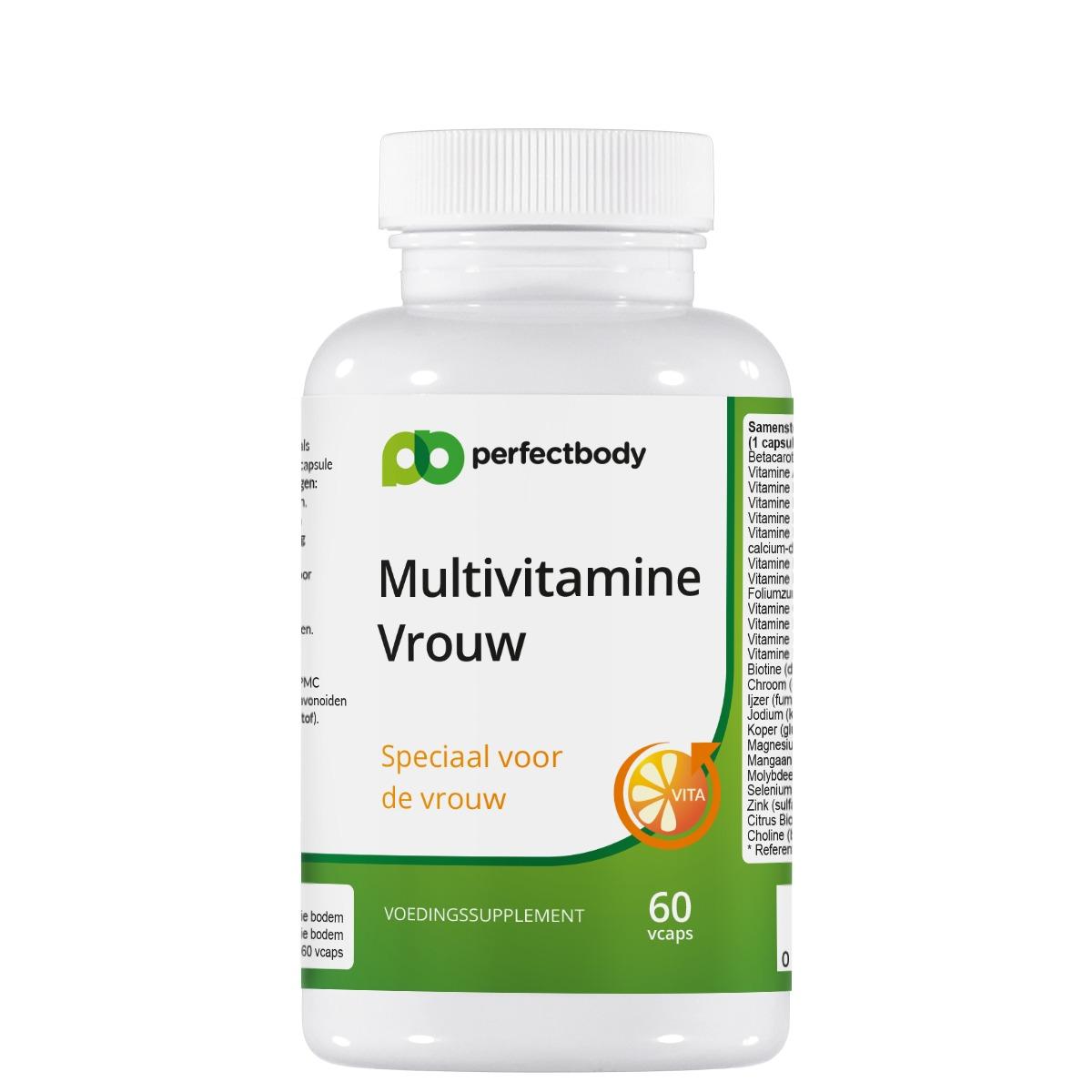 Premium kwaliteit multi voor de vrouw multivitamine vrouw is een hoogwaardige multi in vegetarische capsules....