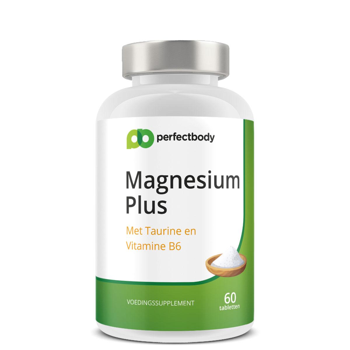 Perfectbody Magnesium Tabletten - 60 Tabletten