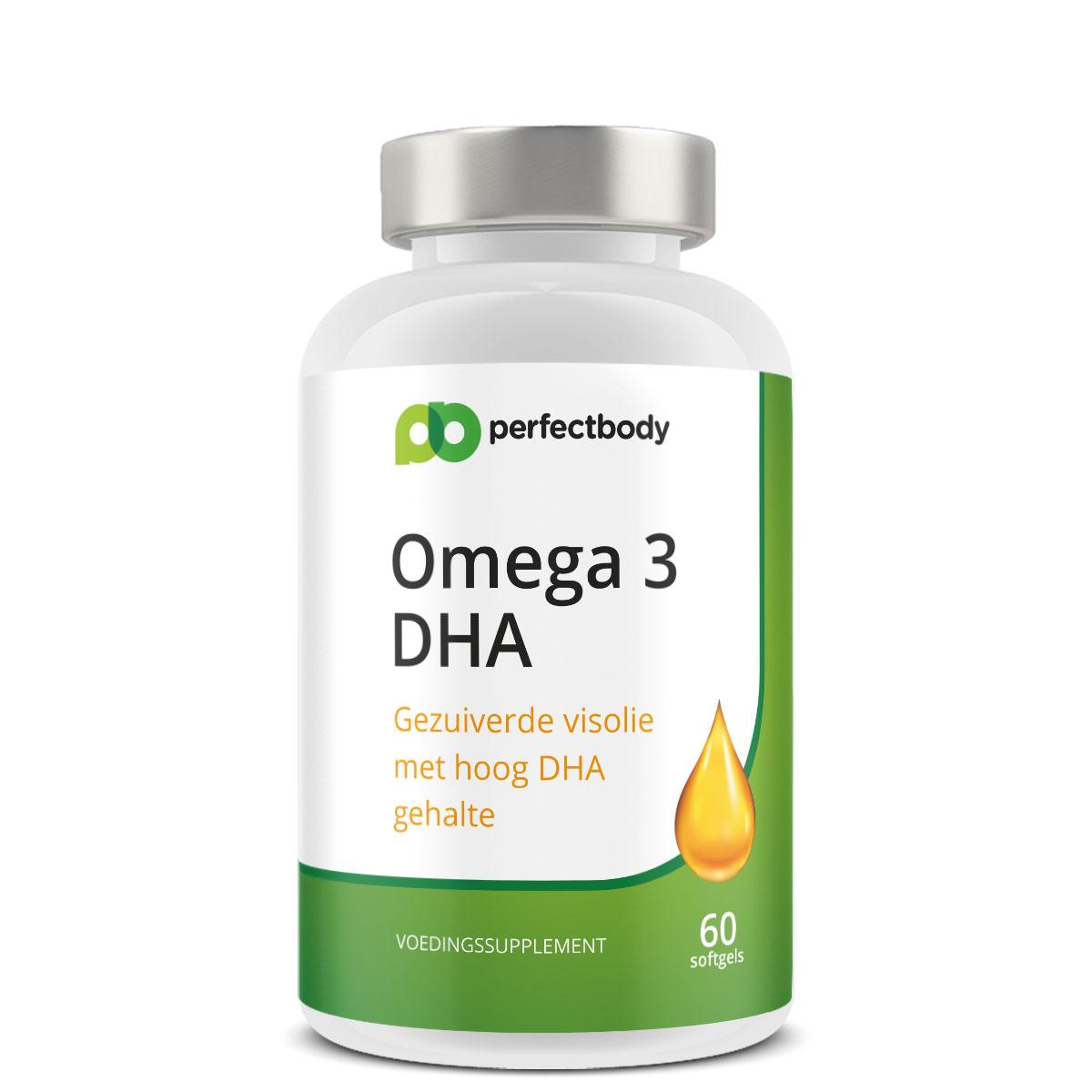 Perfectbody Omega 3 DHA Capsules - 60 Softgels