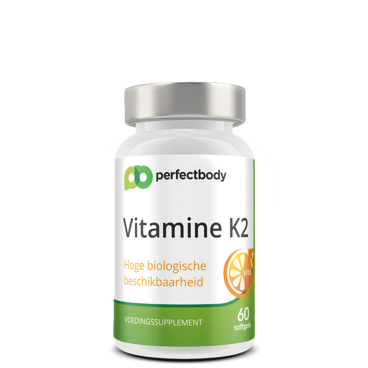 Perfectbody Vitamine K2 MK-7 Capsules - 60 Softgels