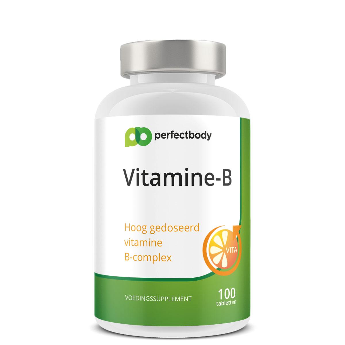 Perfectbody Vitamine B Tabletten - 100 Tabletten