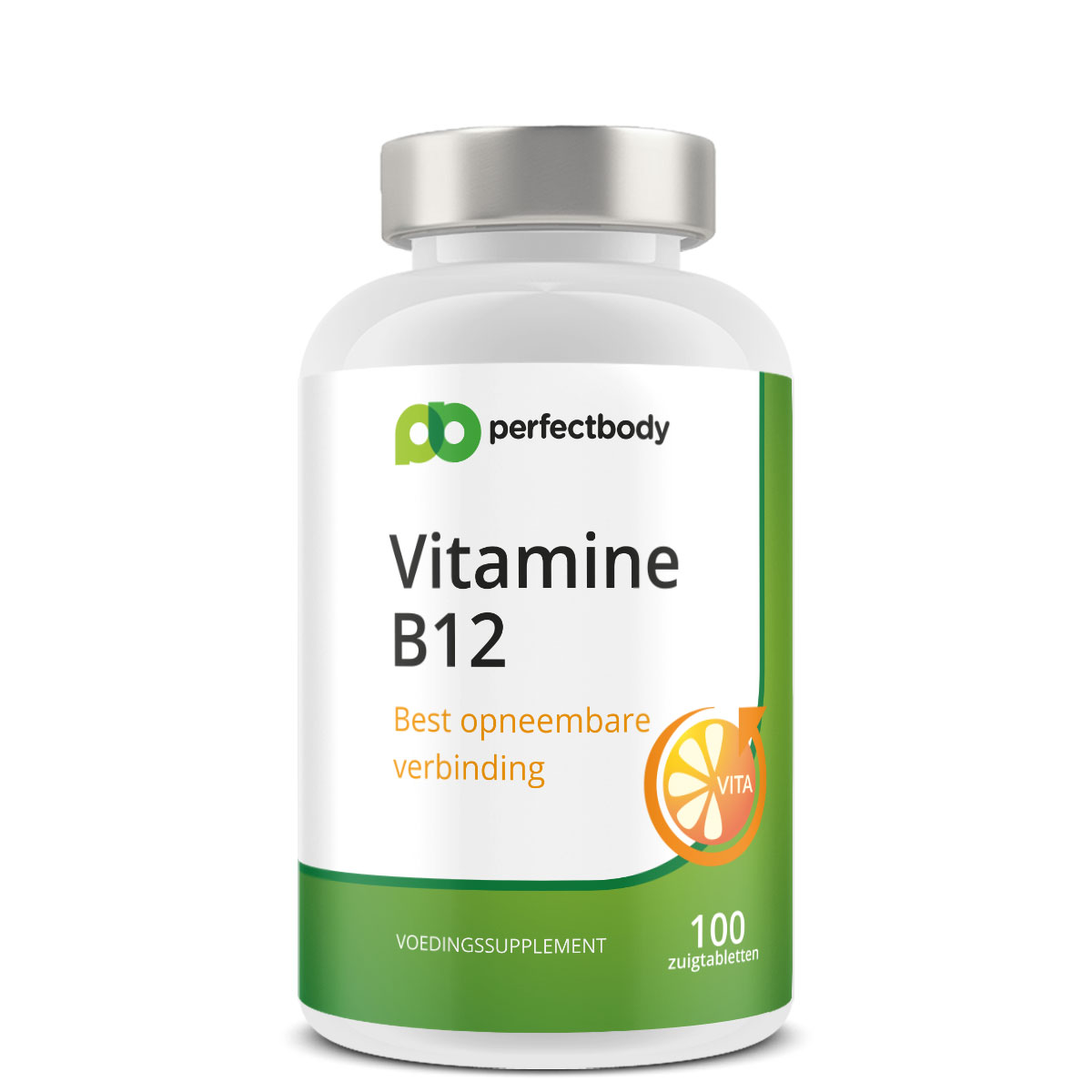 Perfectbody Vitamine B12 Tabletten - 100 Zuigtabletten