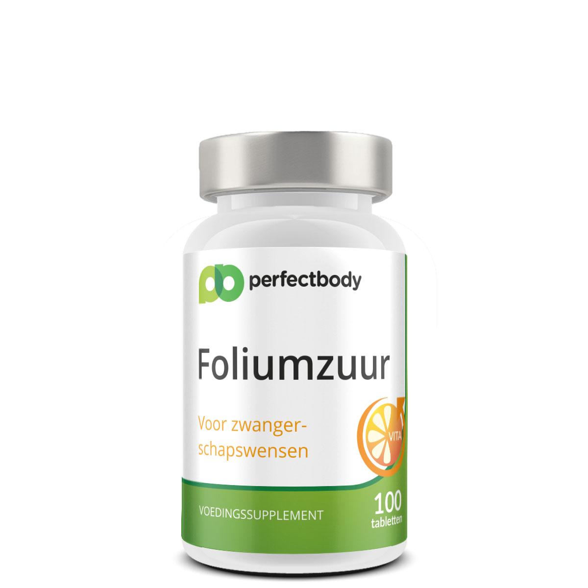 Perfectbody Foliumzuur (vitamine B11) Tabletten - 100 Tabletten