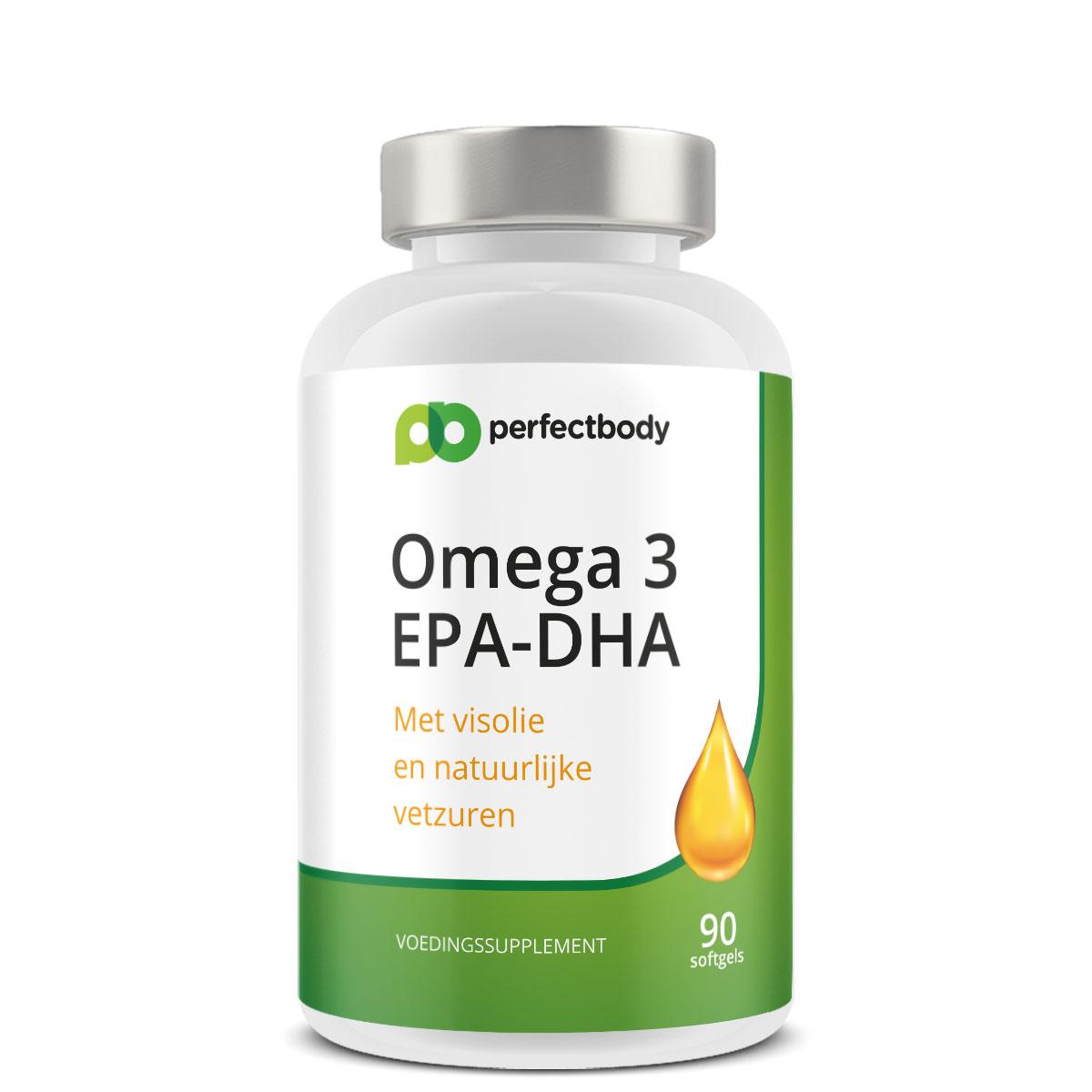 Perfectbody Omega 3 Visolie Capsules (DHA/EPA) - 90 Softgels