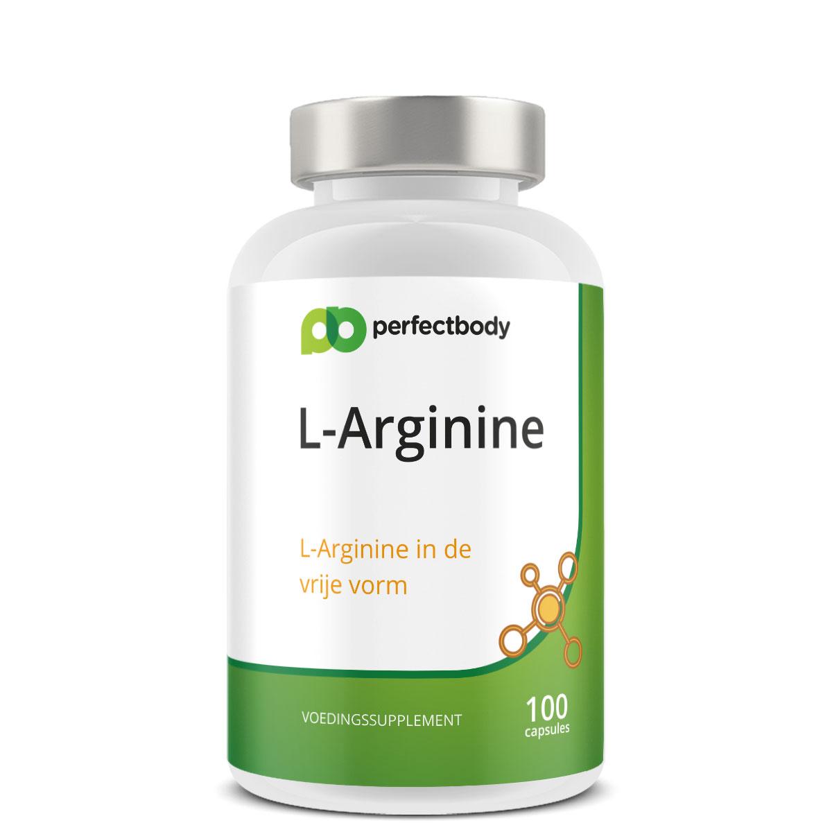 Perfectbody L-arginine Capsules - 100 Capsules