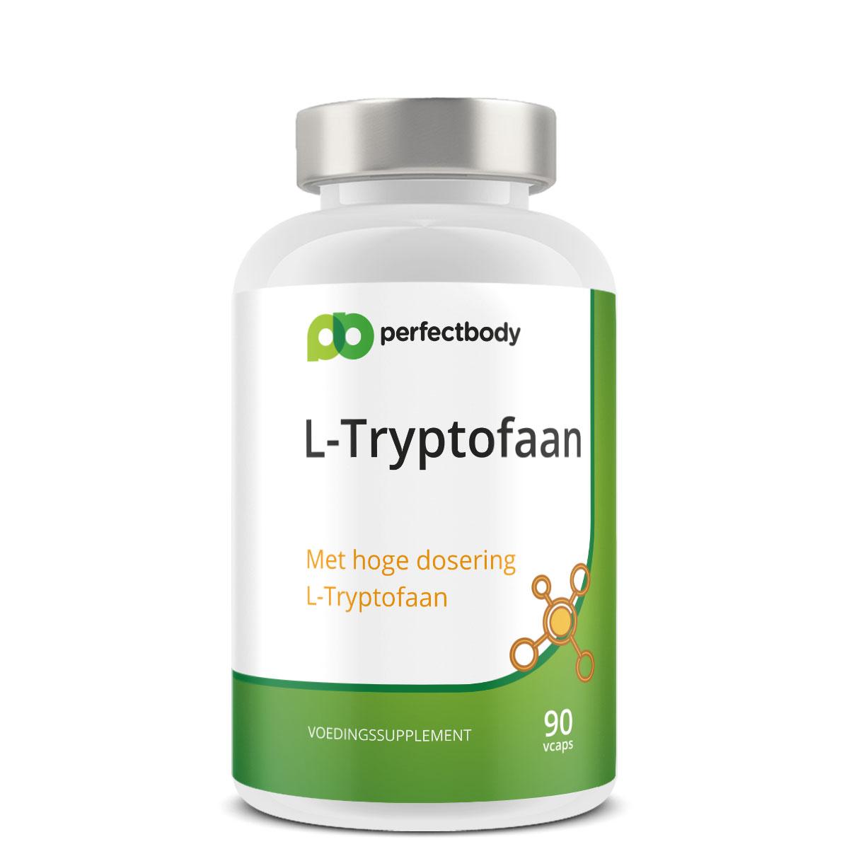 Perfectbody L-tryptofaan Supplementen - 90 Vcaps