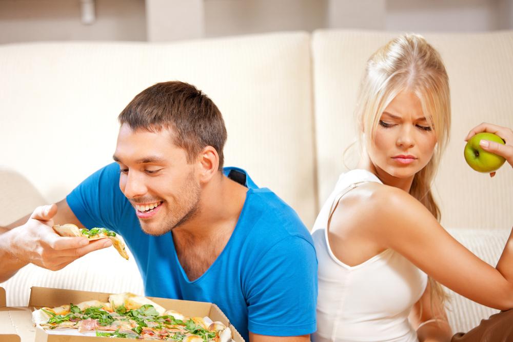 Vetpercentage verlagen: de verschillen tussen man en vrouw