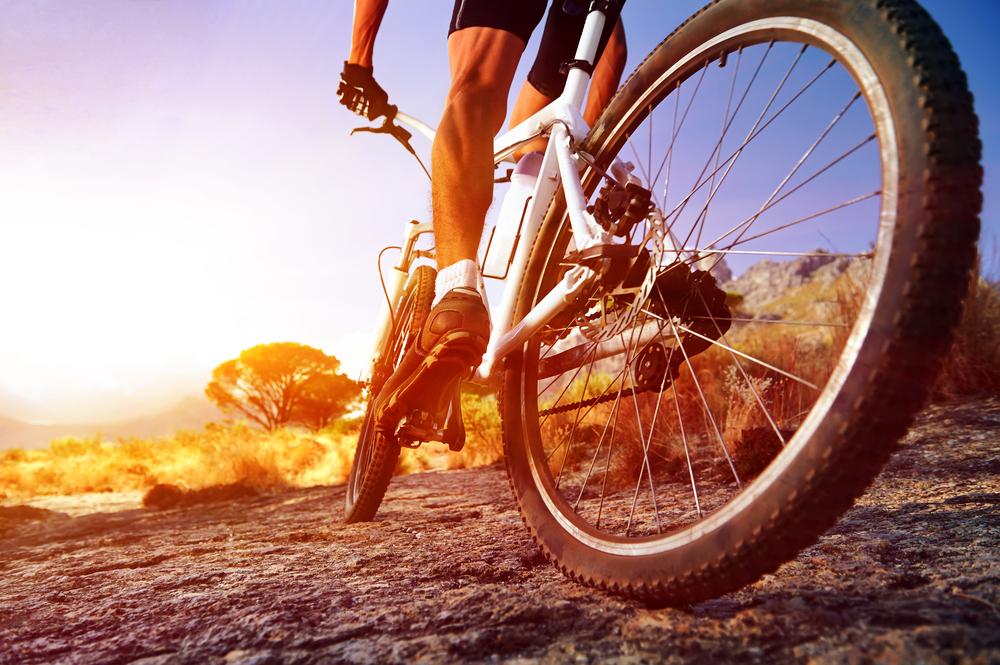 Oefeningen voor de fietsers!