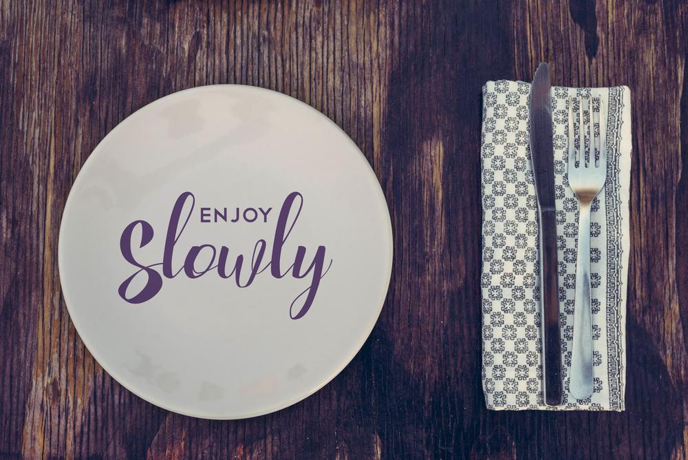 Over de voordelen van langzaam eten