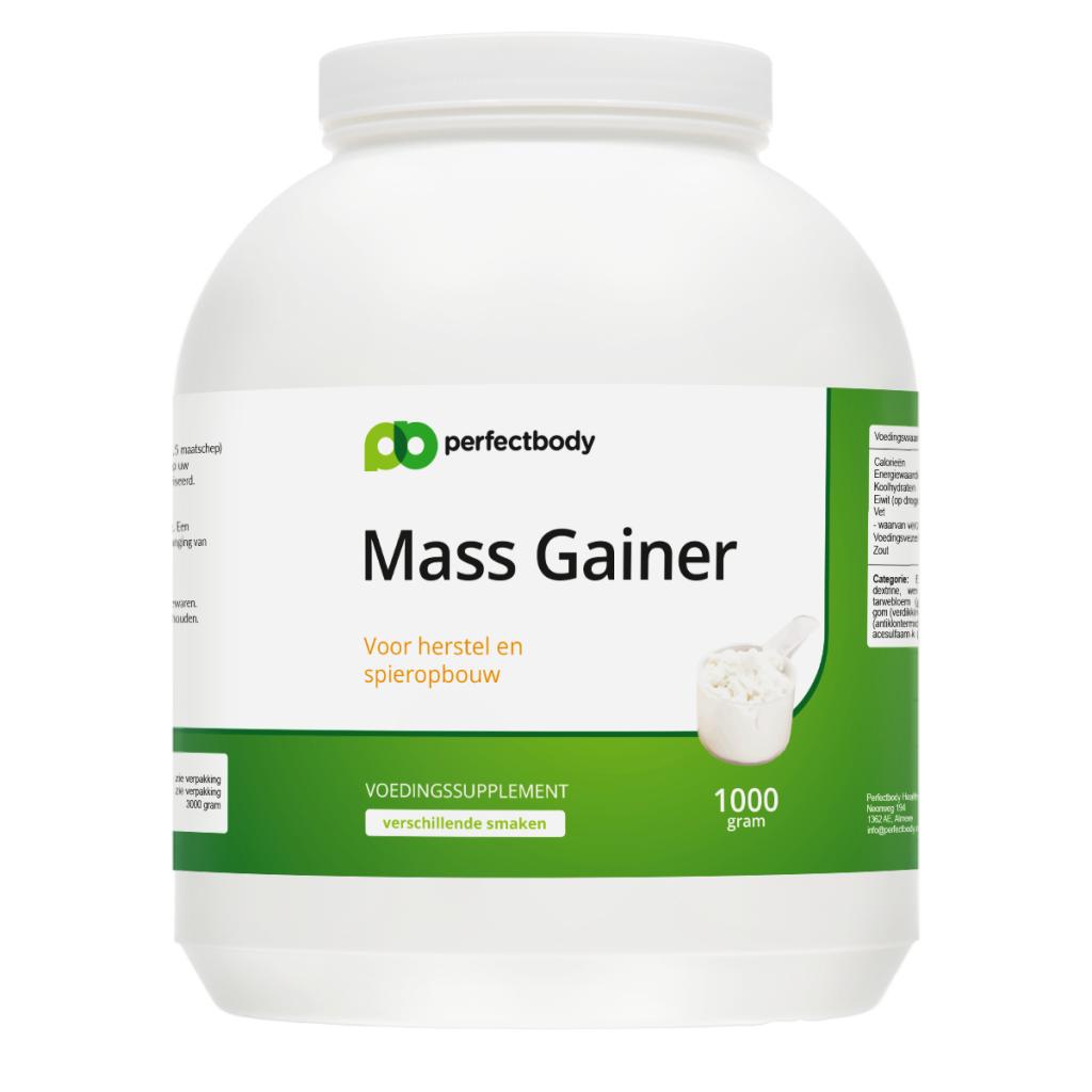 Mass gainer, een bron vanenergie! koolhydraten vormen de meest efficiente energiebron van het lichaam. door ...