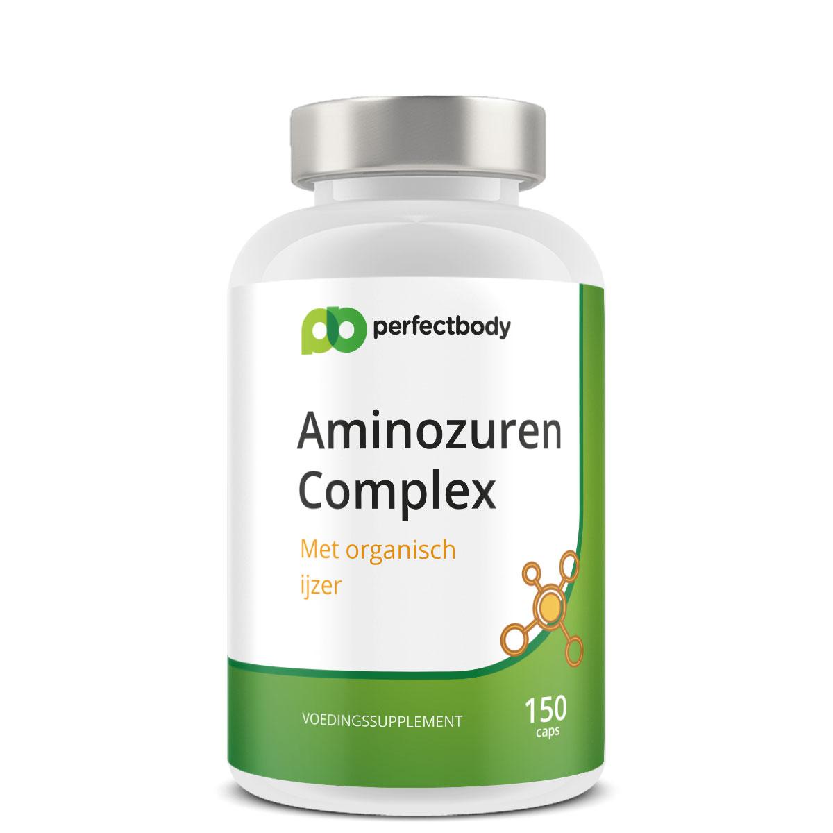 Organisch ijzer met Aminozuren – 150 Capsules