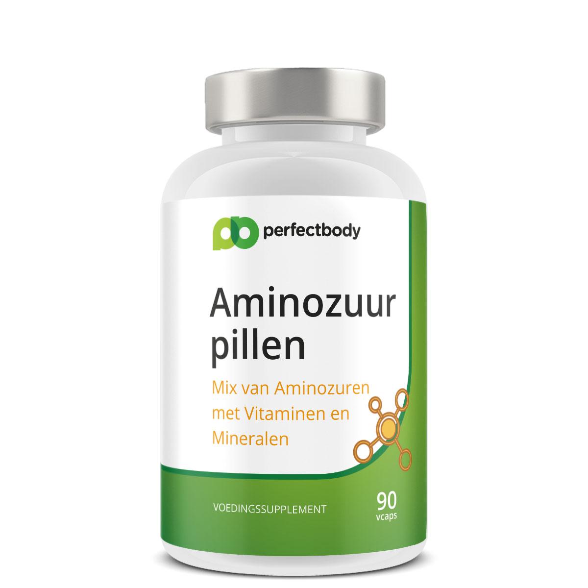 Aminozuur Pillen – 90 Vcaps