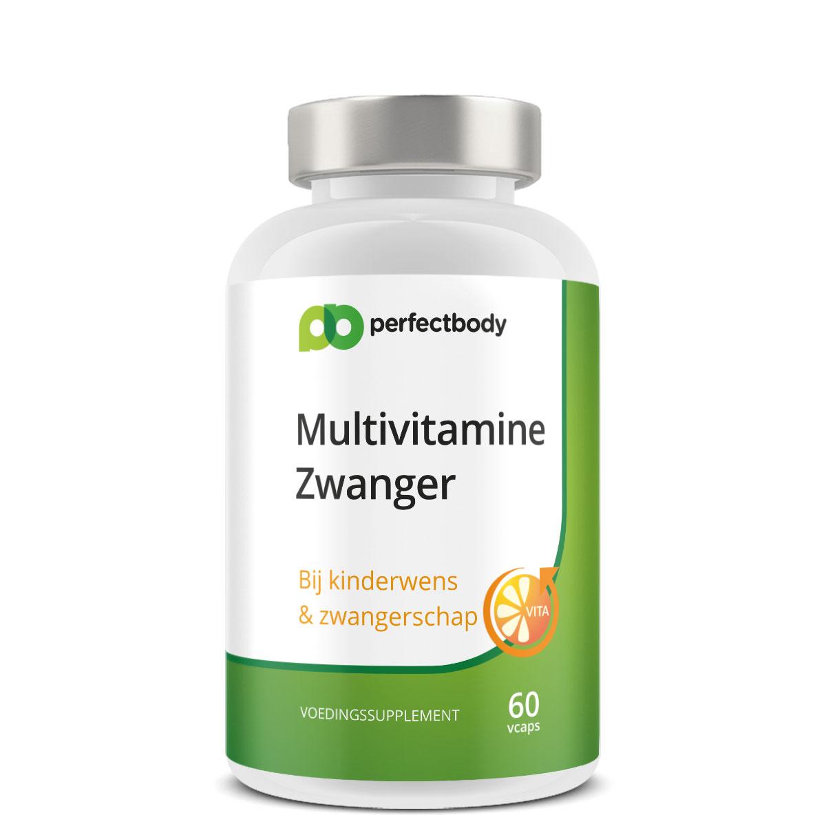 Perfectbody Multivitamine Zwangerschap - 60 Vcaps