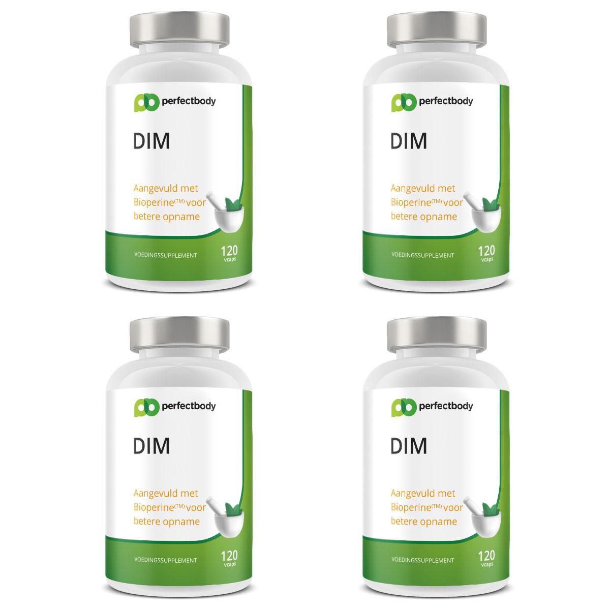 Perfectbody DIM & Bioperine 4-pack - 480 Vcaps
